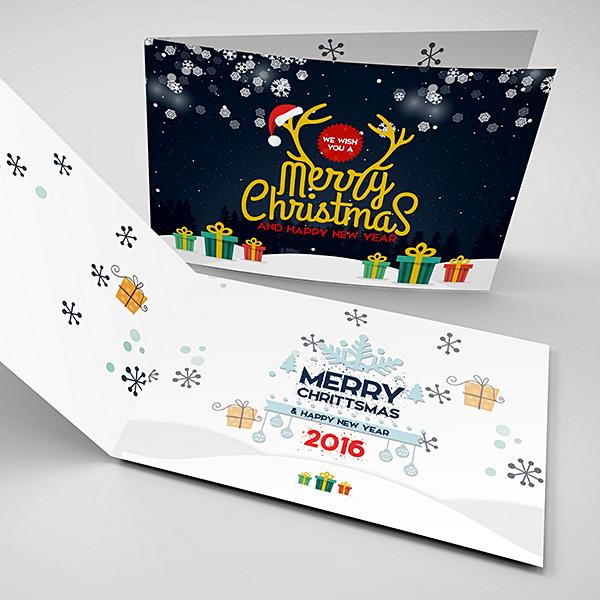 greeting christmas cards printing ie