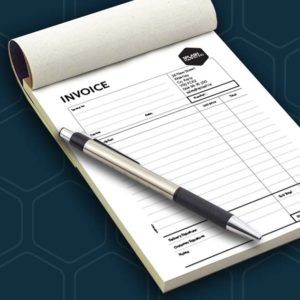 Invoice Docket Receipt Books Pads