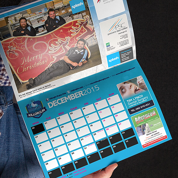 Booklet-calendar